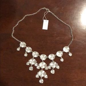 Jewelry - Bancroft silver disk necklace